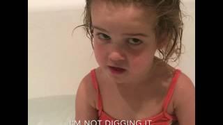 Mila on potty training