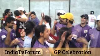 Ghaent Punjabis Celebration after winning the second match of BCL