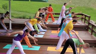 Yoga Urlaub und Erholung in den österreichischen Alpen -- Sivananda Yoga Seminarhaus in Tirol