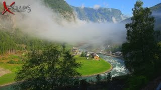 Norway 4K Part Two Flåm Mountain Railway