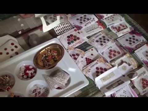 Women self employment training Bindi making by mousumi part 01