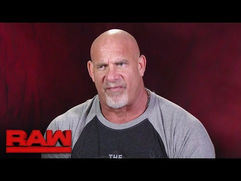 Goldberg gets brutally honest about Brock Lesnar Raw Nov. 7 2016