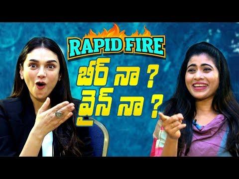 Xxx Mp4 Hilarious Rapid Fire With Antariksham Actress Aditi Rao Hydari Indiaglitz Telugu 3gp Sex