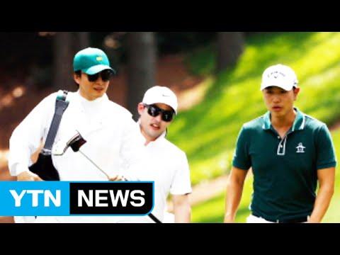 [뉴스콕] 한류스타 배용준, 골프 캐디로 '깜짝' 변신 / YTN