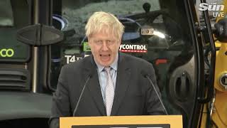"""Boris Johnson: """"stop dithering"""" over Brexit"""