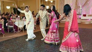 Telugu  Wedding Dance Performance By Bride's Family  Kezia & Wilson