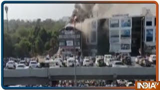 Massive fire engulfs Surat building, 15 students killed