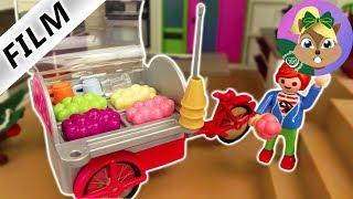 بلايموبيل فيلم -شاحنة الآيس الكريم الخاصة باسرة الطيور! تهور جوليان كالعادة-فيلم أسرة الطيور للاطفال