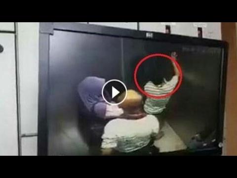 Seorang Pria Lecehkan Wanita Dalam Lift. Lihat Videonya