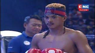 Lao Chantrea vs Phanchhai(laos), Khmer Boxing CNC 18 March 2018, Kun Khmer vs Muay Thai
