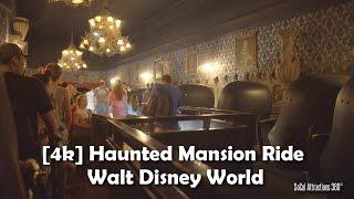 [4K] Haunted Mansion Ride 2016 - Walt Disney World - Magic Kingdom - Extreme Low Light POV