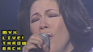REGINE VELASQUEZ - Come In Out Of The Rain (MYX Live! Performance)