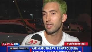 Karim Abu Naba'a es más que una estupidez la detención de mi piloto