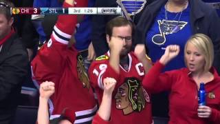 Blues vs Blackhawks Games 1-7 Stanley Cup playoffs highlights 2016