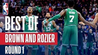 Best Of Jaylen Brown And Terry Rozier From Round 1