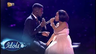 Top 3 Reveal Duets: Thando & Karabo – Idols SA   Mzansi Magic