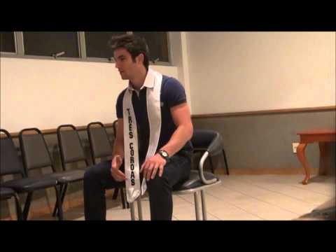 Entrevista Mister Três Coroas 2012 Denis Farco