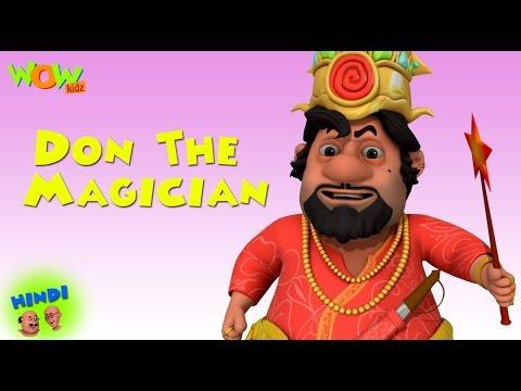 Don The Magician - Motu Patlu in Hindi - 3D Animation Cartoon for Kids -As seen on Nickelodeon