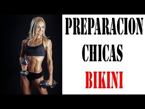 Preparación de competición para chica BIKINI. CPTV. Programa 203