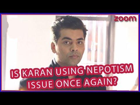 Karan Johar Criticized For Passing Jokes On Nepotism In Bollywood