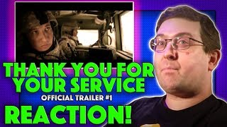 REACTION! Thank You For Your Service Trailer #1 - Miles Teller Movie 2017