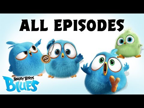 Angry Birds Blues   All Episodes Mashup - Special Compilation