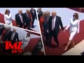 Melania Trump Gives The Presidents Hand A Slap | TMZ TV