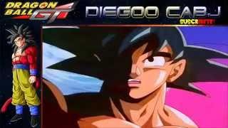 Goku se transforma en SSJ4 full audio latino HD   YouTube