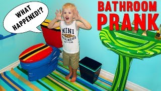 BATHROOM MAKEOVER PRANK - Family Fun Pack