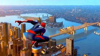 Spiderman PS4 - Open World Gameplay Demo (E3 2018)