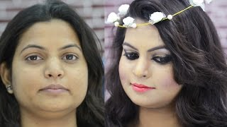 New Year Party Makeup in HINDI