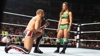 Daniel Bryan  AJ accepts Bryan's propasal: Raw - June 16, 2012