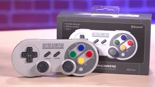 Super Nintendo-style Switch Controller Unboxing