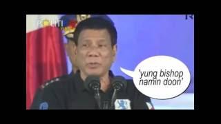 Duterte sa mga obispo: Pareho lang tayong may kabit