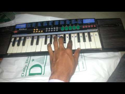 Khuda gawa song in casio keyboard