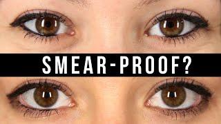 Women Test Smear-Proof Eyeliner