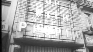 Olympia Music Hall, Paris, 1970.  Archive film 95031
