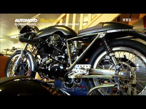 Les motos Vincent de Florent Pagny