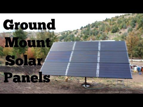 Xxx Mp4 DIY Solar Panel Ground Mount Adjustble 3gp Sex