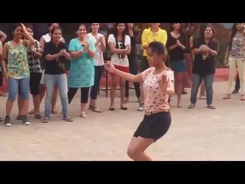 Odisha College Girls Dance   Prabhu Deva's 'Muqabla' Song  