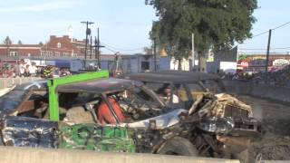 Broome County Fair 2012 Demolition Derby V8 Modified Feature