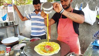 Mumbai Maharaja Omelette || Creamy Egg Dish Recipe || Street Food India