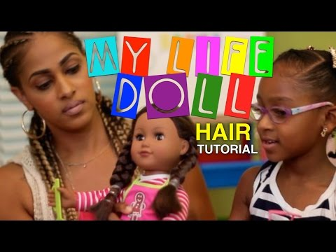 Xxx Mp4 MY LIFE DOLL HAIRSTYLES MOMMY AND ME DOLL HAIR TUTORIAL DOLL VIDEO FAMILY FUN 3gp Sex