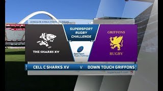 2018+SuperSport+Rugby+Challenge+-+Cell+C+Sharks+XV+vs+Down+Touch+Griffons