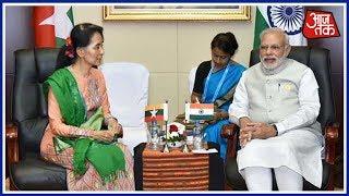 Ek Aur Ek Gyara: Modi Meets Suu Kyi, Discusses India-Myanmar Relations