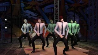 심즈4 The Sims 4 BTS 쩔어 DOPE group dance (Get Together)