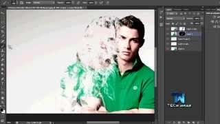 Photoshop Smoke Dispersion Effects Tutorial