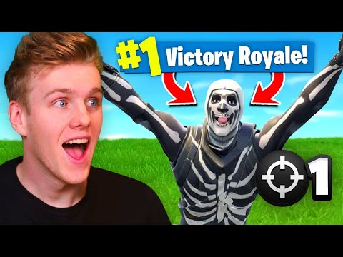 Reacting To My FIRST Victory Royale In Fortnite Battle Royale