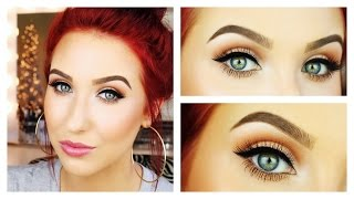 Get Ready With Me - Messy Bun & Classic Makeup | Jaclyn Hill