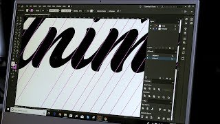 How To VECTORISE Your Logo Lettering  - Graphic Designer